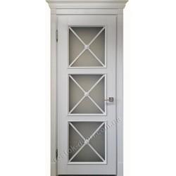Элитные классические двери со стеклом, MD-19