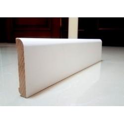 Плинтус плоский деревянный