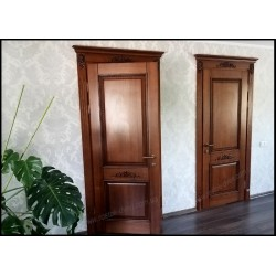 Двери межкомнатные из массива на заказ