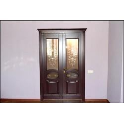 изготовление деревянных дверей на заказ