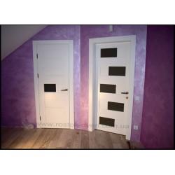 Межкомнатные белые двери из массива