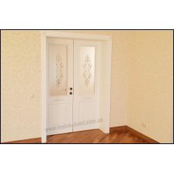 Белые межкомнатные классические двери