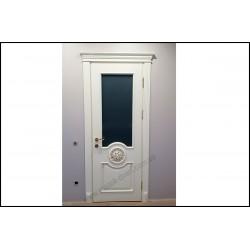 Деревянные двери из массива ольхи